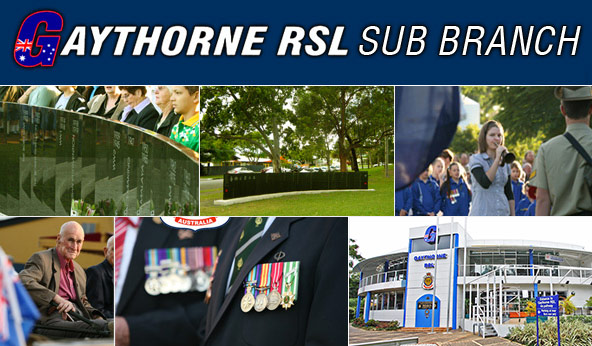 RSL Queensland RSL Brisbane North District Gaythorne RSL Subbranch