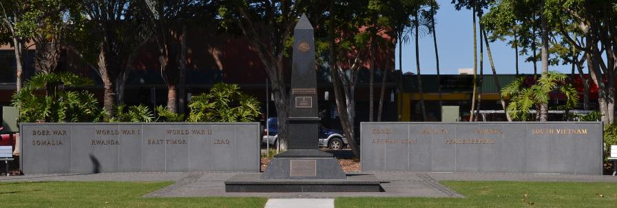 RSL Queensland RSL Brisbane North District Caboolture-Morayfield RSL Sub-branch cenotaph