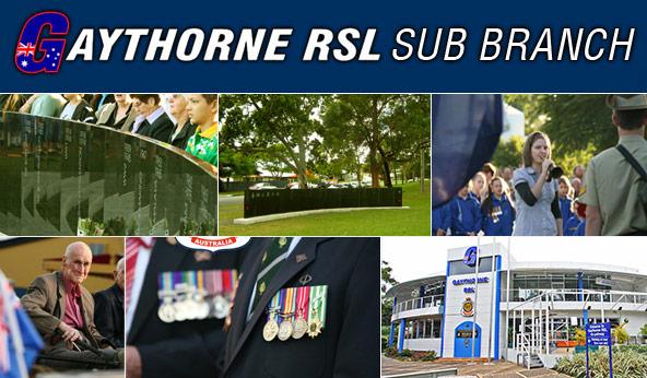 RSL Queensland RSL Brisbane North District Gaythorne RSL Subbranch